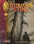 Betrayal's Sting: An Earthdawn Shard (Classic Edition)