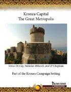 Kronea Capital: The Great Metropolis