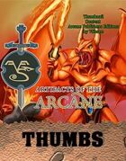 Arcane Publishers THUMBS vol 1-9