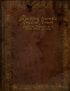 The Expedition Journals of Amestus Armen, Journal Three: A Study of Urvalis Culture and Law