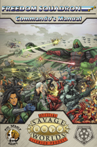 Freedom Squadron Commando's Manual