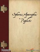 Spheres Apocrypha: Pugilists