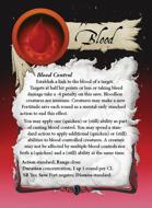 Ultimate Spheres Cards: Blood
