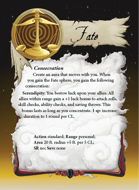 Ultimate Spheres Cards: Fate