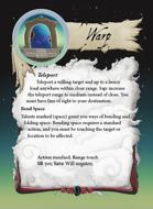 Ultimate Spheres Cards: Warp