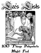 100 Things Pickpockets Might Find