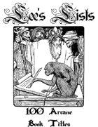 100 Arcane Book Titles