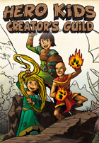 Hero Kids - Creator's Guild - Fantasy Expansion - Fichas de Progreso Heroe Español Castellano