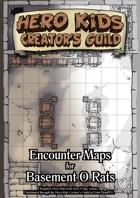 Encounter Maps - Basement O Rats