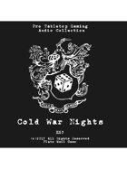 Pro RPG Audio: Cold War Nights