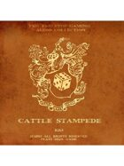 Pro RPG Audio: Cattle Stampede