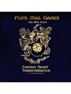 Pro RPG Audio: Fantasy Beast Transformation
