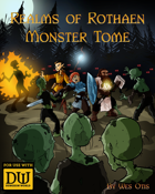 Realms of Rothaen Monster Tome (Dungeon World Compatible)
