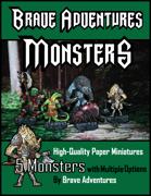 Brave Adventures Monsters!