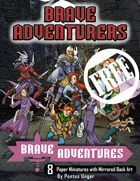 Brave Adventures - Adventurers Set 1 FREE