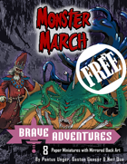 Brave Adventures - Monster March FREE