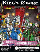 Brave Adventures - King's Court Printable Chess Set