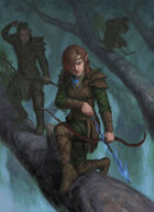 "Lema Stockart #29: Cover image ""Elven archers"""