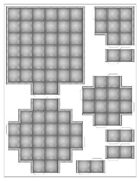 15mm Derelict Tiles