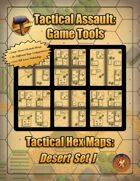Tactical Hex Map-Desert Set I