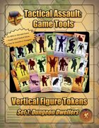 Vertical Figure Tokens - Set 1: Dungeon Dwellers (Color)