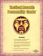 Tactical Assault: Personality Cards™ Card Pack - TAGPC001