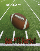 Solo PTG Football 2020 Team Sheets Print