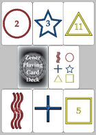 Zener Playing Card Deck
