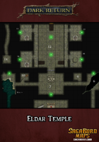 Map - Eldar Temple and Surrounding Area