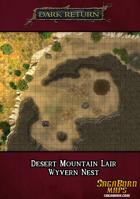 Map - Desert Mountain Lair - Wyvern Nest