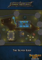 Map - The Silver Keep