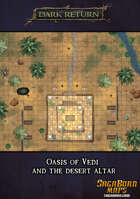 Map - Oasis of Vedi and the Desert Altar