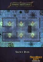 Map - Snowy Ruin 25x15