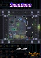 Map - Cyberpunk - Bio Lab (40x38)