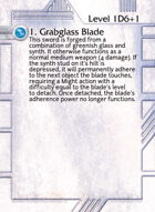 1. Grabglass Blade - Custom Card