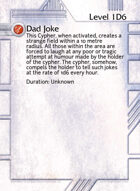 Dad Joke - Custom Card