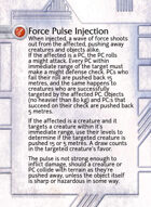 Force Pulse Injection - Custom Card