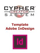 Cypher System Creator Resource - InDesign Template