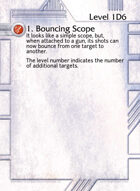 1. Bouncing Scope - Custom Card