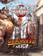 Cypher System Creator Resource - Art Set 1 Unmasked