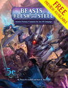 Beasts of Flesh and Steel FREE PREVIEW