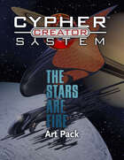 Cypher System Creator Resource - Art Set 2 The Stars Are Fire
