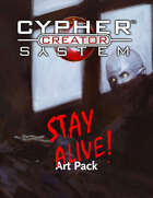 Cypher System Creator Resource - Art Set 2 Stay Alive
