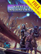 Where the Machines Wait FREE PREVIEW