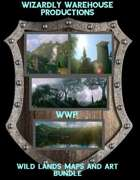 Wild Lands Map and Art pack Bundle