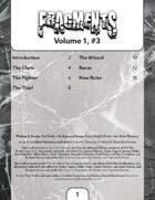 Fragments, Volume 1, #3