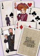 Kill Doctor Lucky Poker Deck (Tan)
