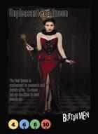 Unpleasant Red Queen - Custom Card