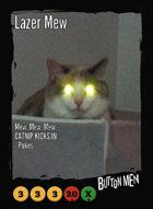 Lazer Mew - Custom Card