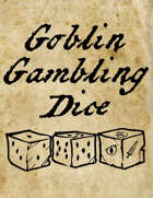Goblin Gambling Dice Rules